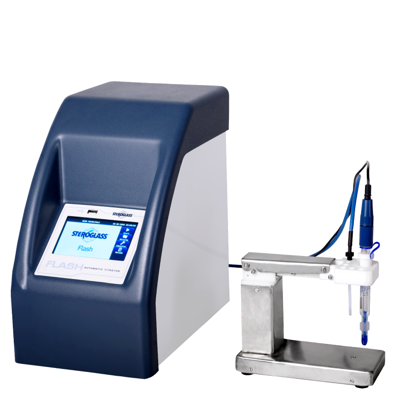 Titrator for measuring pH, Total Acidity, Free & Total Sulfur Dioxide, Formol Number, Volatile Acids, Reducing Sugars, and many more.