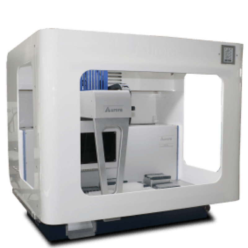 Automated solid phase extraction to concentrate and purify samples for analysis