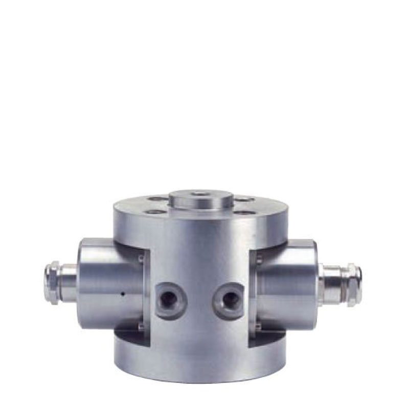Flange Mounted NIR Liquid Process Flow Cell. Optical fiber for 300 to 600 μm. UV/Vis and NIR operation. Flange-mounted fittings.