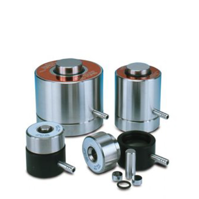 FTIR Pellet Dies. Prepare KBr Pellets. Evacuable for high quality pellets. Durable stainless steel. Highly polished pellets.
