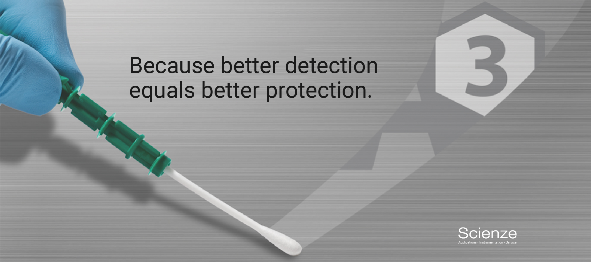 It's a unique and powerful advantage. Only Kikkoman's new LuciPac A3 Sanitation System detects ATP+ADP+AMP with one swab to give you the whole picture. Its patented A3 Technology has been proven to detect residues and microorganisms that others miss. And it's incredibly easy to use. Just swab the way you always have, while enjoying the most advanced sensitivity and detection power available. It's detection perfection.