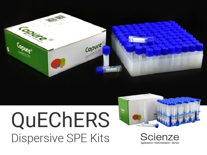 QuechersDispersiveSPEKits800